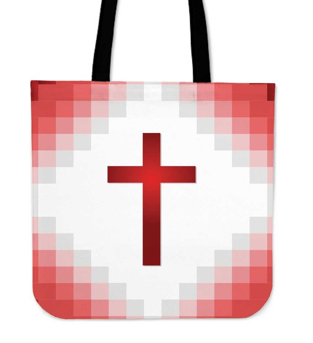 Ready Red Cross Tote Bag - Christianity Amore