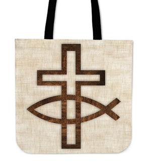 Jesus Christ, Son of God, Savior Tote Bag - Christianity Amore