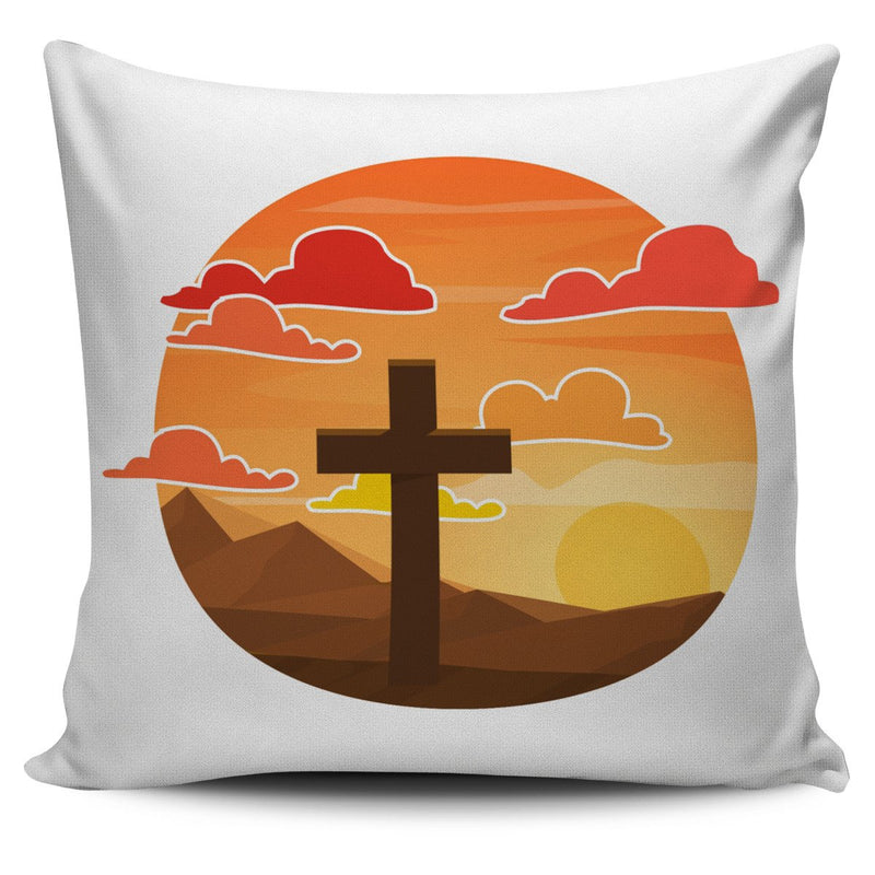 Arizona Cross Pillow Cover - Christianity Amore