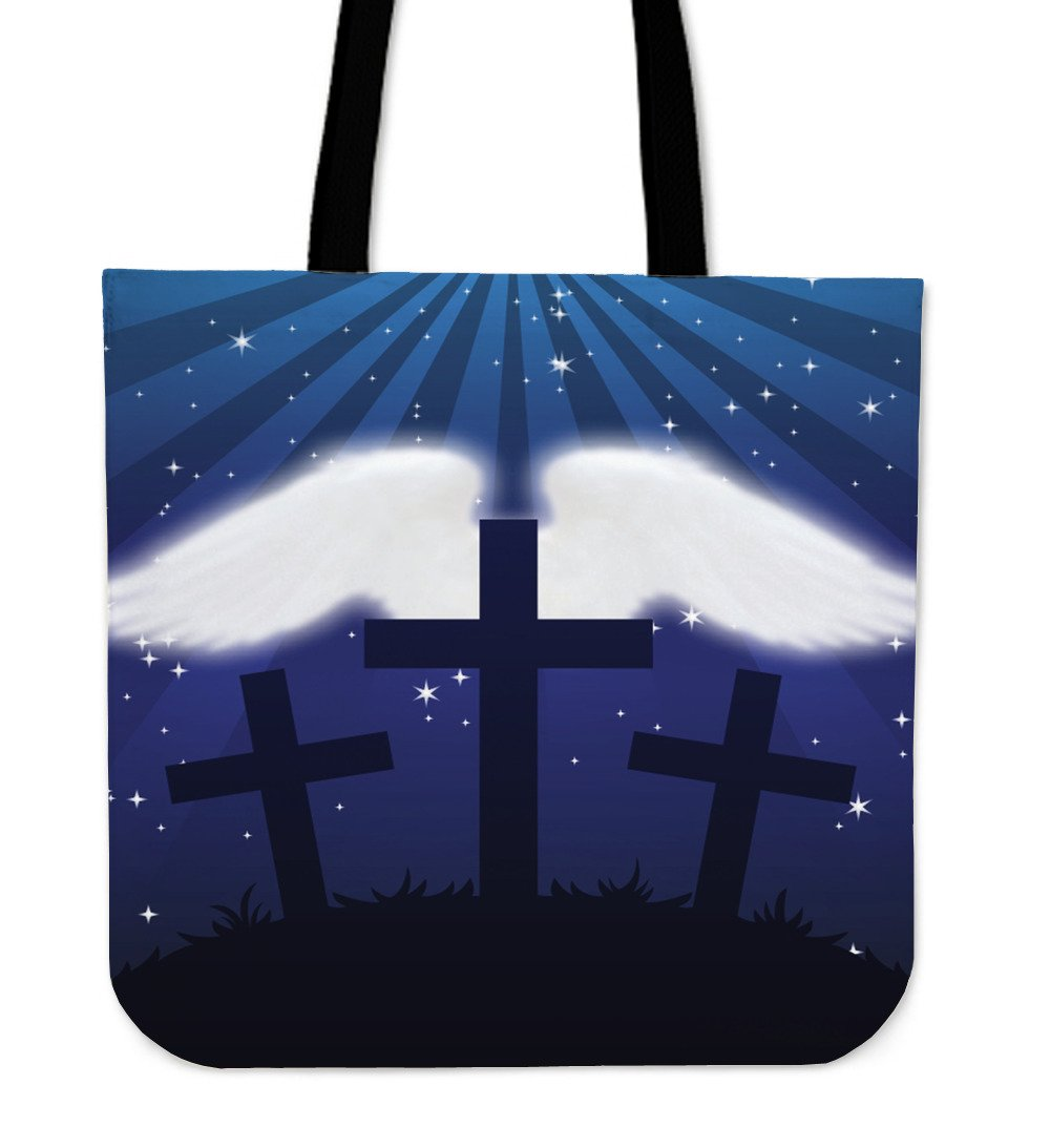 On The Wings of an Angel Tote Bag - Christianity Amore