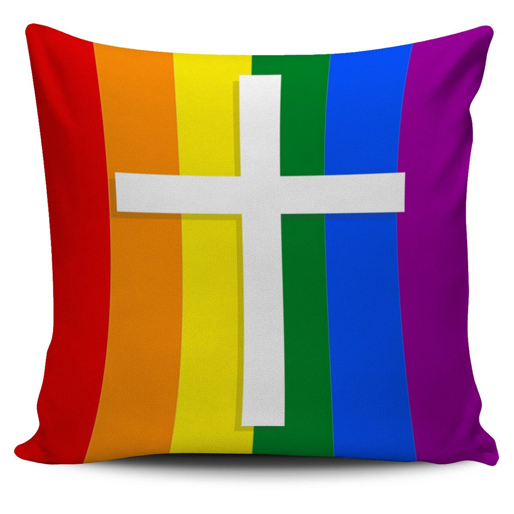 Pride Pillow Cover - Christianity Amore