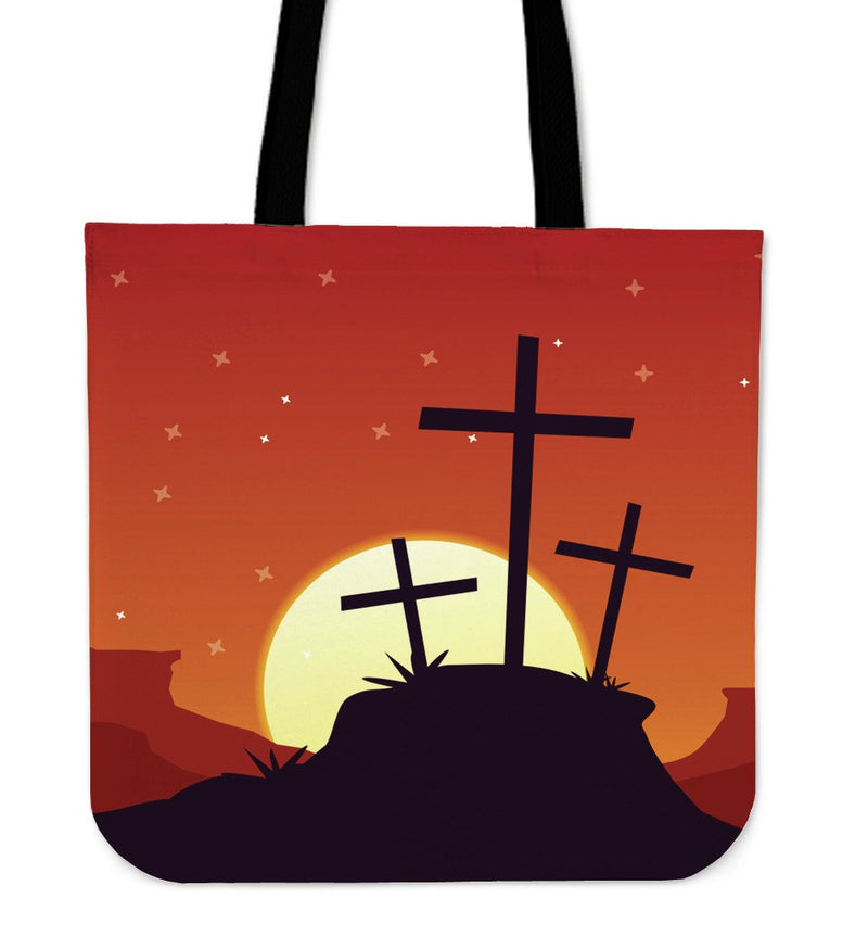 Moon rising Tote Bag - Christianity Amore