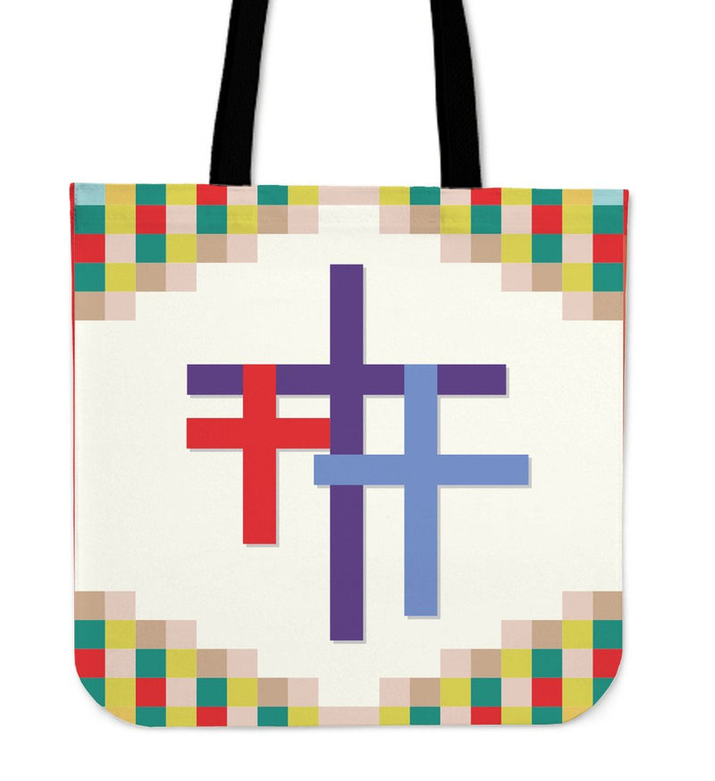 Woodland Easter Basket Tote Bag - Christianity Amore