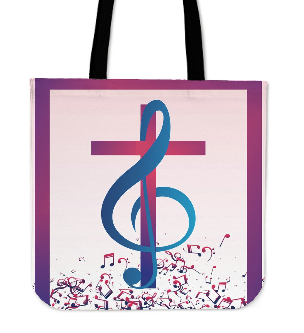 Sing his praises Tote Bag - Christianity Amore