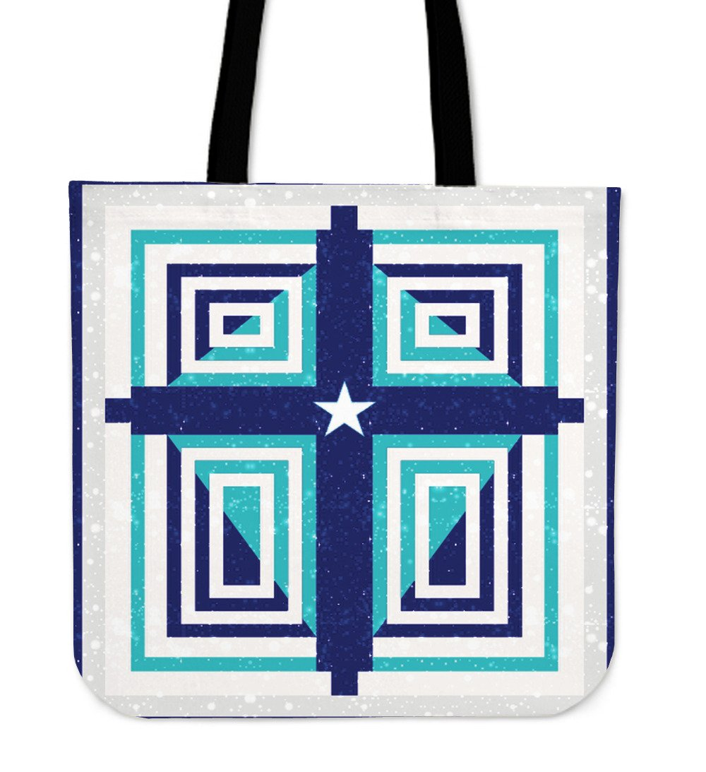 The Texan Cross Tote Bag - Christianity Amore