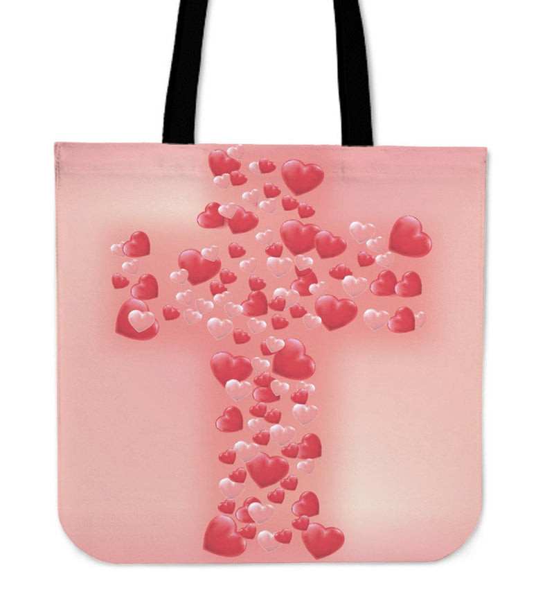 Bubble Cross Tote Bag - Christianity Amore