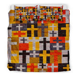 Patchwork Cross Duvet Cover - Christianity Amore