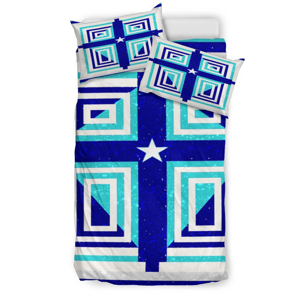 Dallas Cross Duvet Cover - Christianity Amore