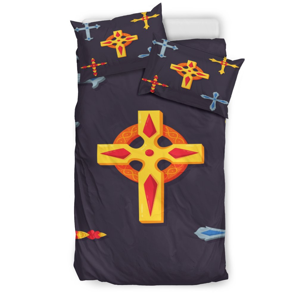 Five Cross Duvet Cover - Christianity Amore