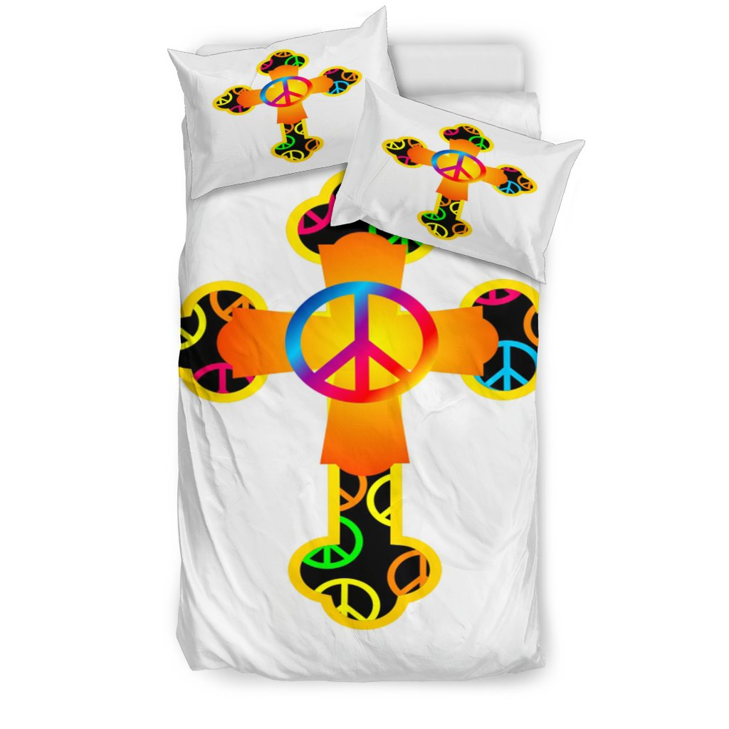 Hippie Love Duvet Cover - Christianity Amore