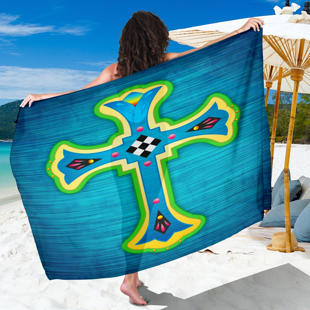 Modern European Cross Sarong - Christianity Amore