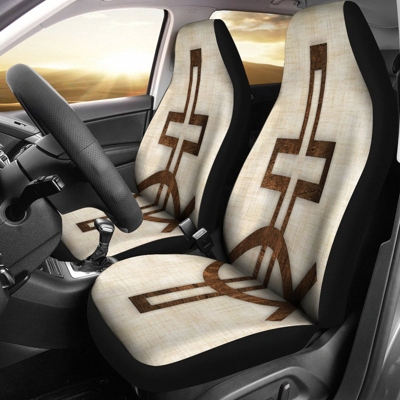 Symbol and Cross Car Seat Covers - Christianity Amore