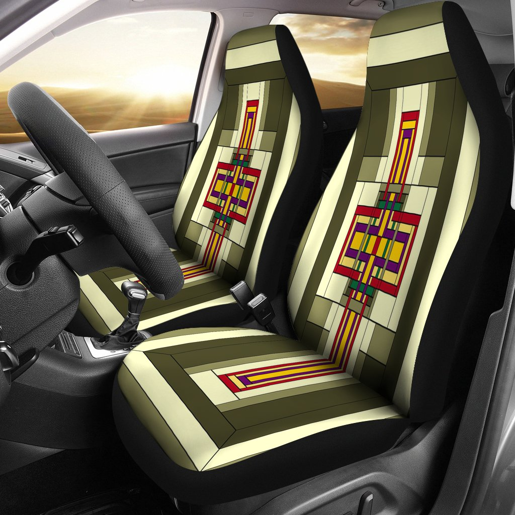 Cabin Fever Cross Seat Covers - Christianity Amore