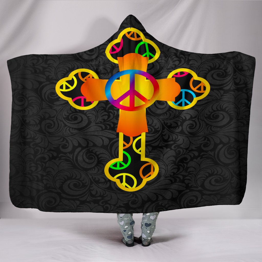 Let the good times roll! Hooded Blanket - Christianity Amore