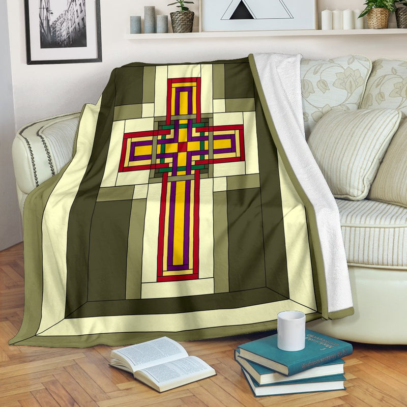 Cabin Fever Cross Blanket - Christianity Amore