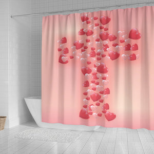 Pink Bubble Cross - Christianity Amore