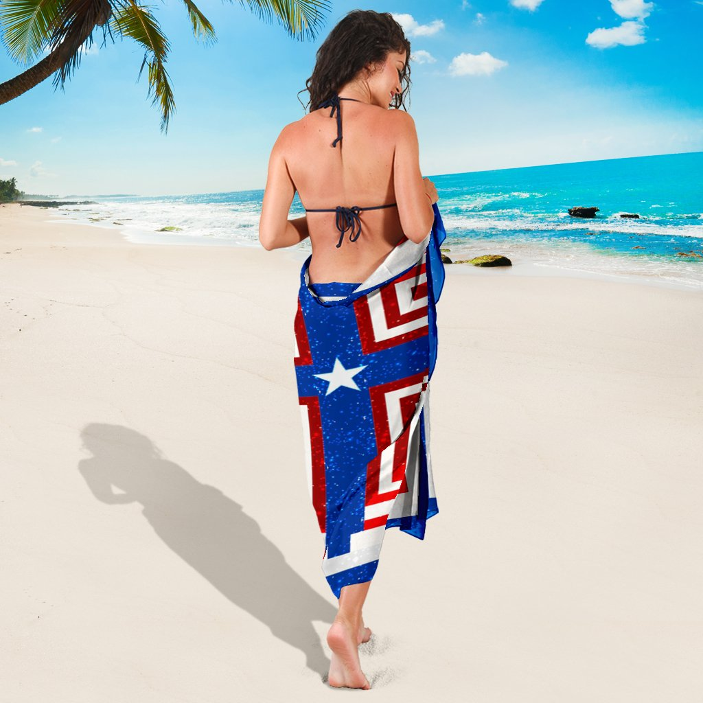 Patriot Cross Sarong - Christianity Amore