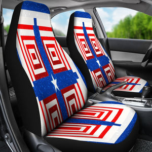 Patriot Cross Car Seat Covers - Christianity Amore