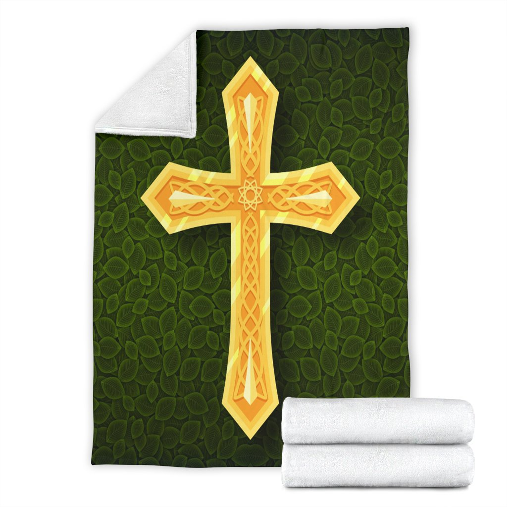 Celtic Cross Blanket - Christianity Amore
