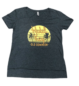 old dominion ladies hotel key palm tree shirt