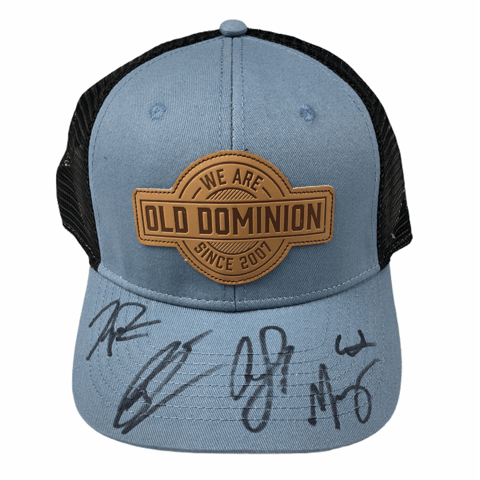 Old Dominion Autographed Hat
