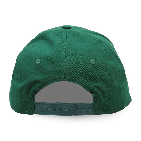 old dominion green snapback hat