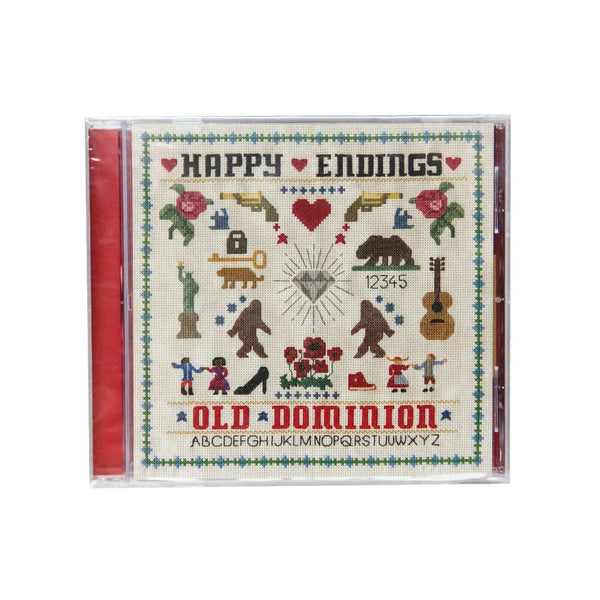 Old Dominion Happy Endings Country Music CD