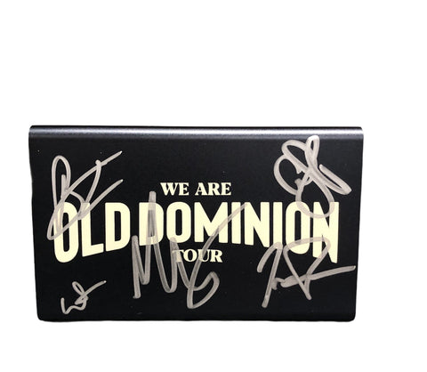 Old Dominion Autographed Power Bank