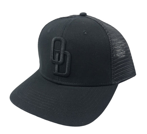 *Limited Edition* Black on Black Hat