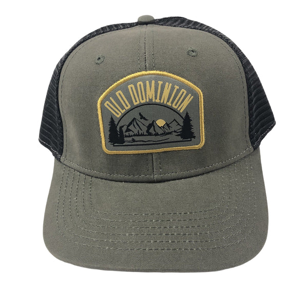 Old Dominion Olive Green Mountain Patch Hat