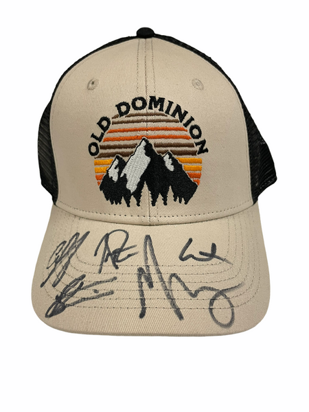 Old Dominion Autograph Hat