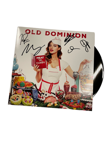 Meat and Candy Autographed Vinyl