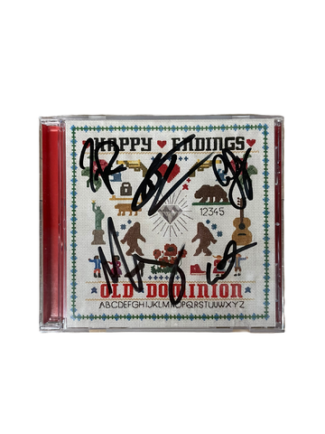 Happy Endings Autographed CD