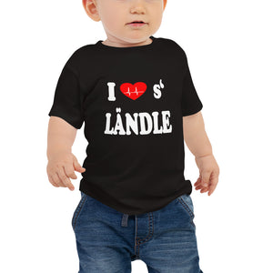 I love s' Ländle Baby Jersey T-Shirt