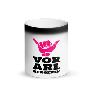 "Vorarlbergerin ""Black Magic"" Tasse"
