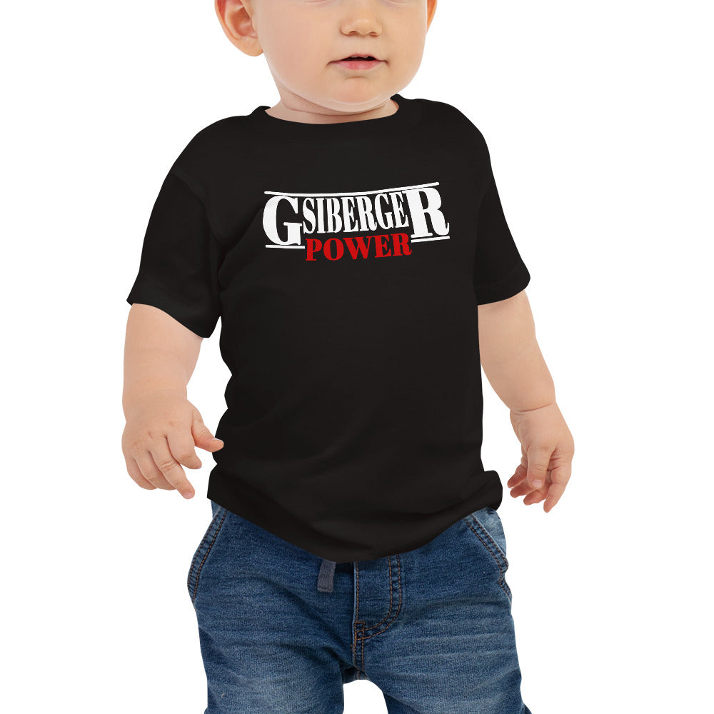 Gsiberger Power Baby Jersey Kurzarm T-Shirt