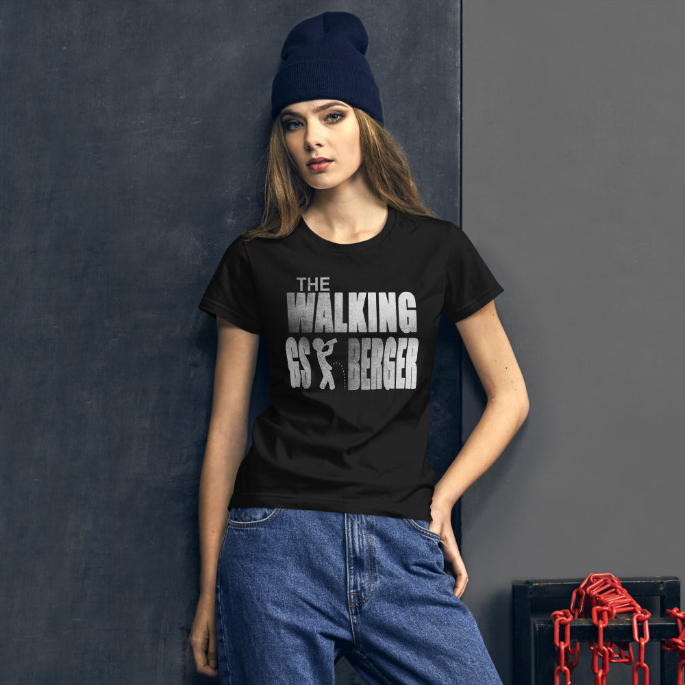 The Walking Gsiberger Damen Kurzarm T-Shirt