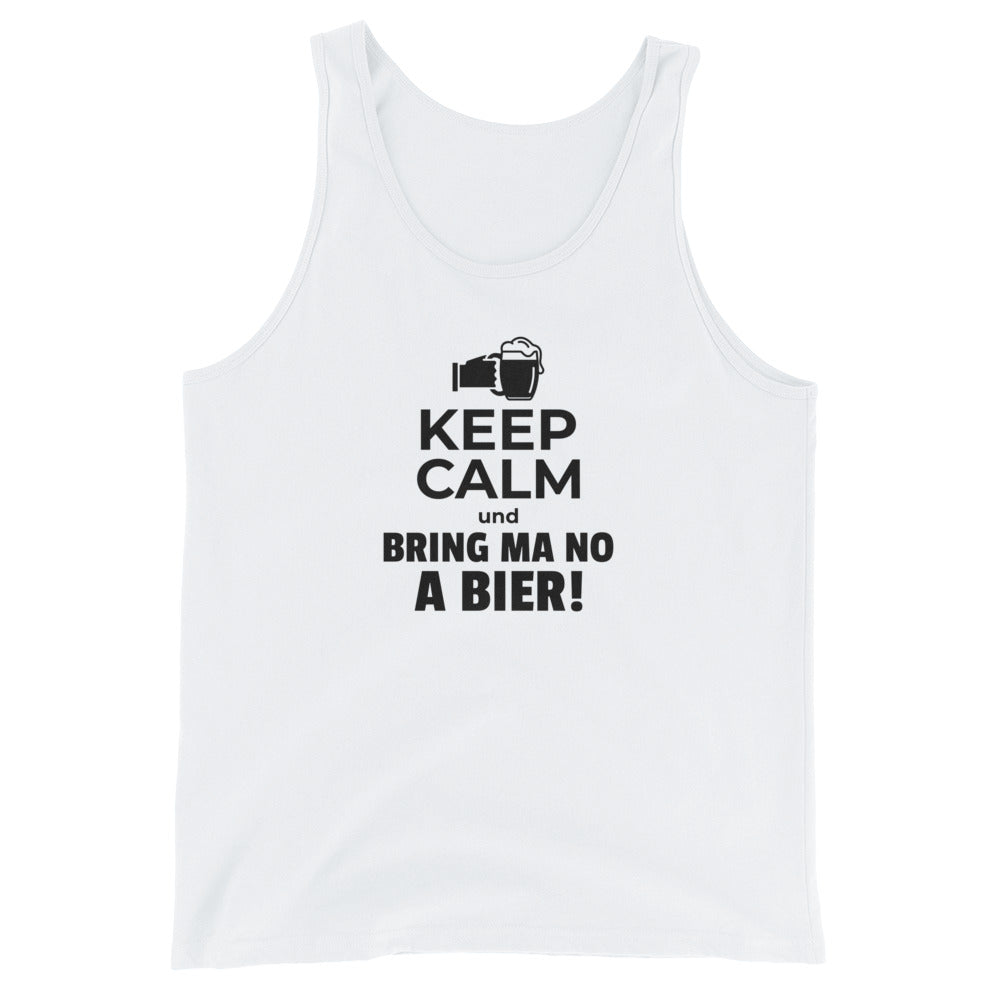 Keep Calm und bring ma no a Bier! Tank Top