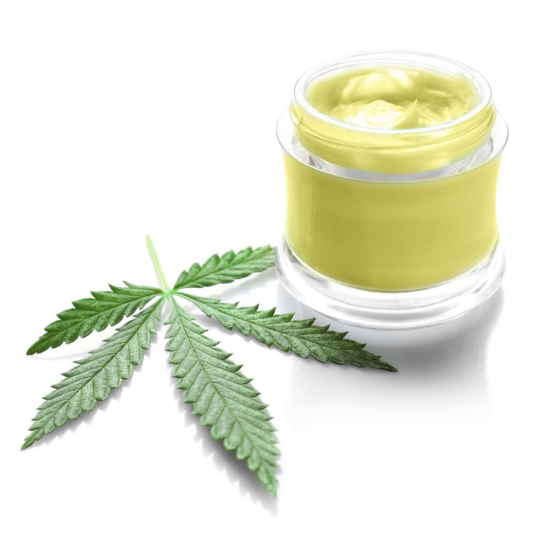 Essential Oils CBD Massage Cream