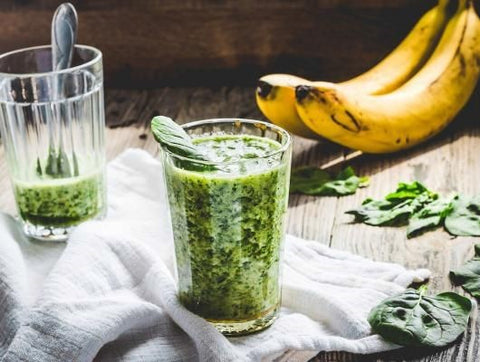 The Green Pineapple & Cinnamon Smoothie