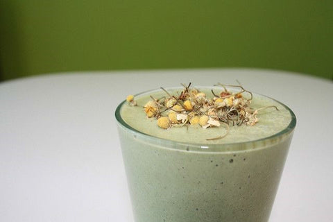The Lavender Cucumber Refresher Smoothie