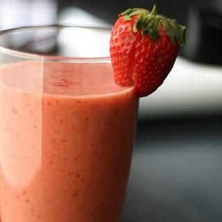 The Super Strawberry Smoothie