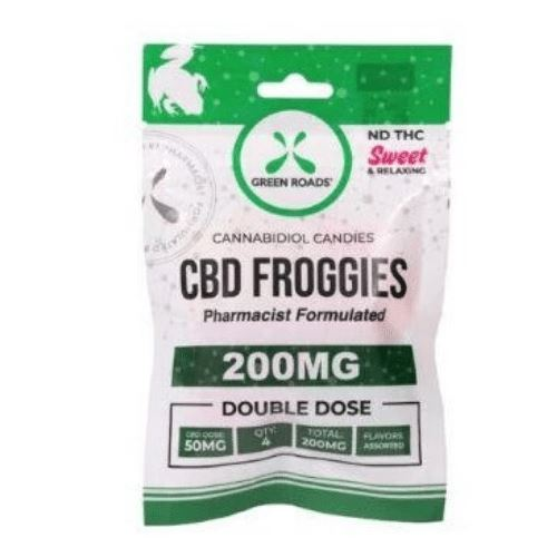 CBD Froggies | 50 mg/gummy | 200 mg/pack | CBD Isolate