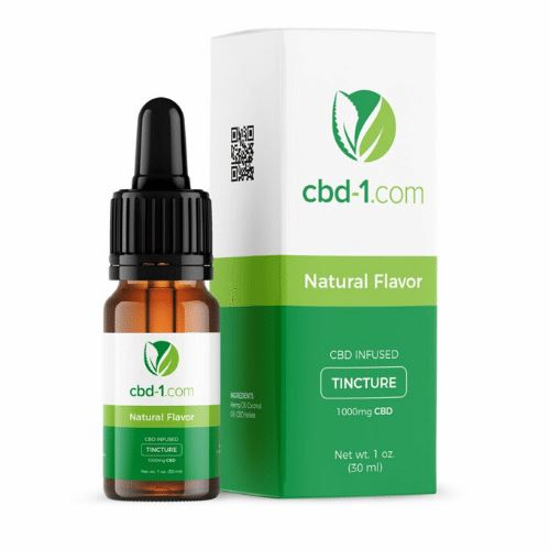 CBD Oil | 1000 mg | 30 ml | Natural Flavor | CBD Isolate