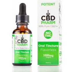 CBD Oil | 1000 mg | 30 ml | Pure CBD | No THC