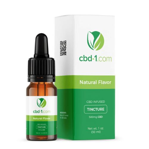 CBD Oil | 500 mg | 30 ml | Natural Flavor | CBD Isolate