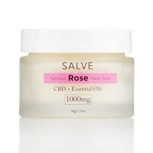 CBD Salve | 1000 mg | 1.76 oz | Patchouli Rose Ylang