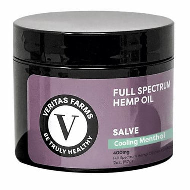 CBD Salve | 400 mg | 2 oz | Full Spectrum