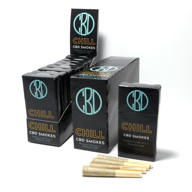 Chill CBD Smokes | 960 mg |  1 carton | 8 packs