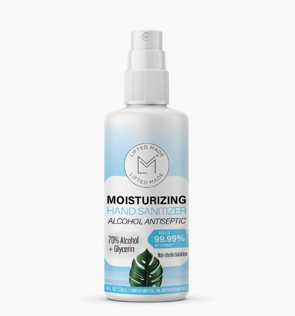 Lifted Made – Moisturizing Hand Sanitizer (4 OZ)